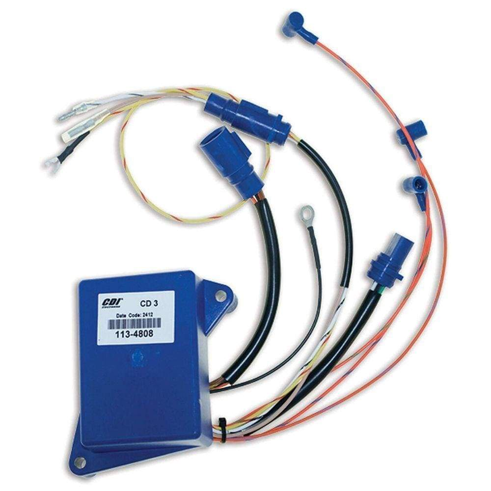 CDI Electronics Unclassified Power Pack 3 Cyl. - Johnson Evinrude - Replaces: 584808, 585145, 585189, 5004532, 5004533