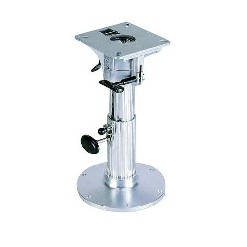 Blue Water Ribbed Stanchion 305-432mm Seat Base - Adjustable Height: 30-43cm