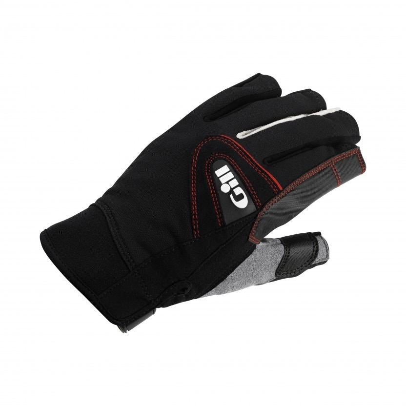 Championship Gloves - Short Finger - Black/Grey