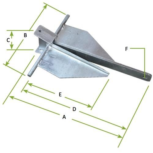 Galvanised Sand Anchor