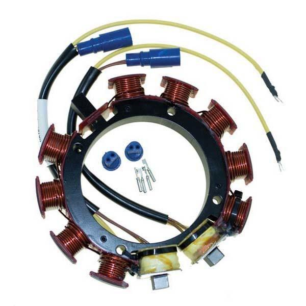Stator 6/8 Cyl. - 35amp - Johnson Evinrude - Replaces: 583670, 582847, 583117