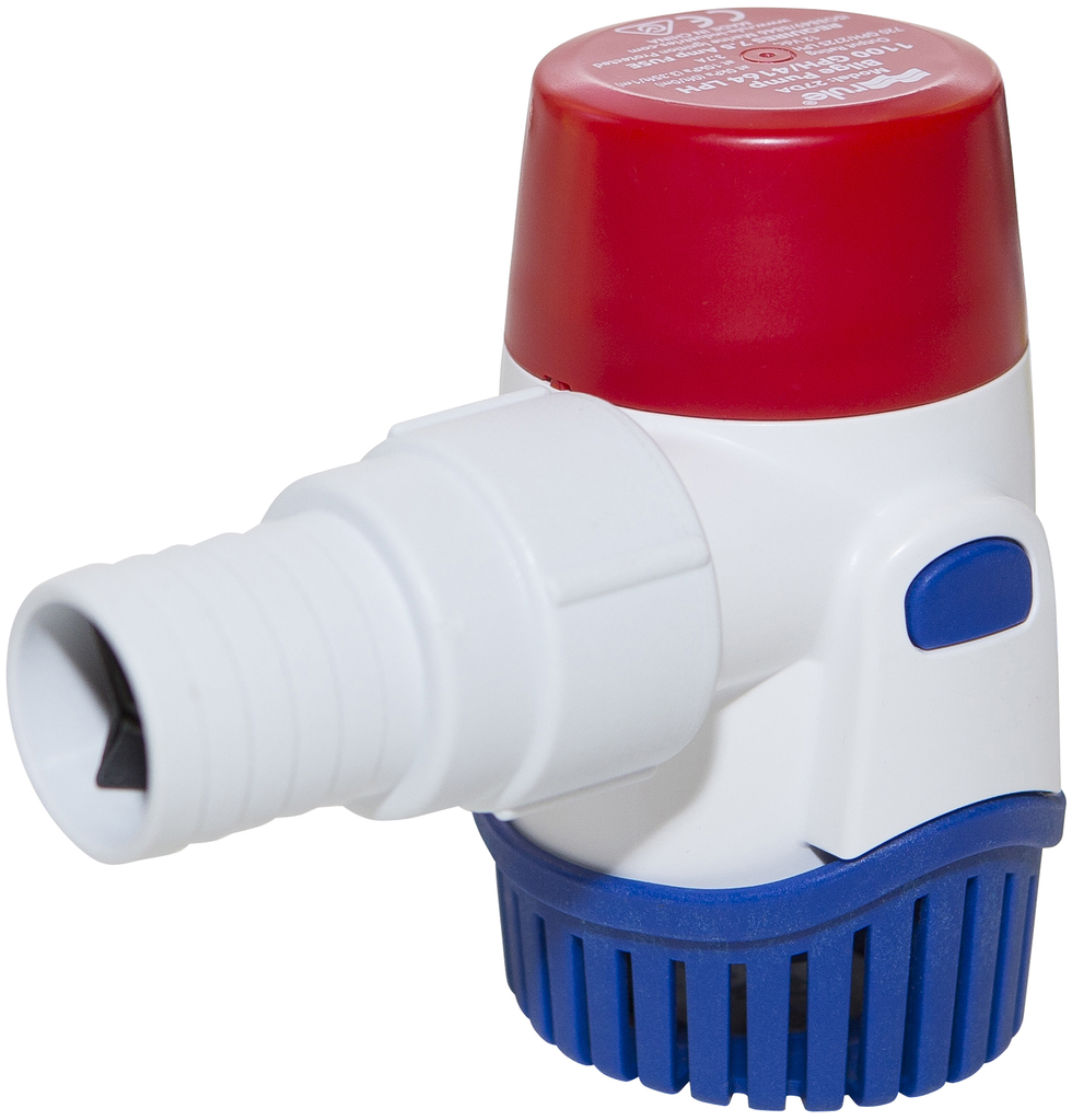 1100GPH Submersible Bilge Pump - Non-Automatic - 24V
