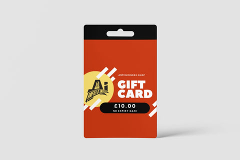 AnfieldIndex.Shop Gift Card