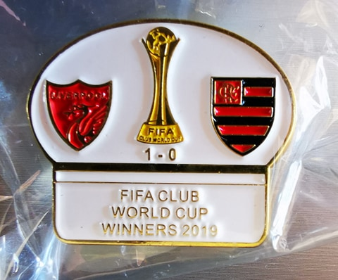 Liverpool LFC FIFA World Club Cup Winners Pin Badge