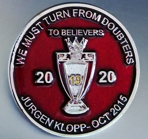 Liverpool LFC Doubters to Believers Pin Badge