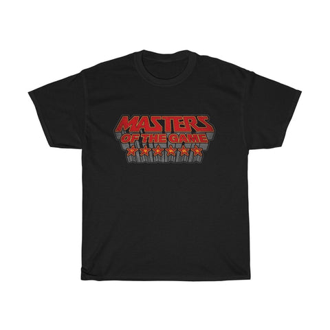 Masters of the Game LFC T-Shirt (Red & Grey Print)