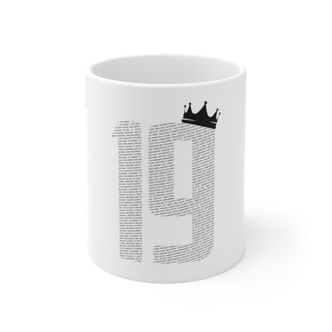 19 Crown Champions 19/20 Mug (Black Print)