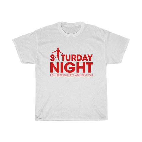 Saturday Night - Divock Origi Inspired T-Shirt - Red Print