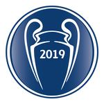 UEFA UCL Adult Winners Badge 2019