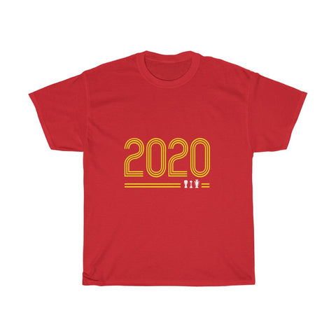 Retro 2020 - LFC Champions 19/20 T-Shirt (Yellow Print)