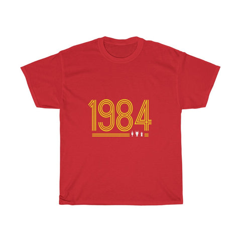 Retro 1984 LFC T-Shirt (Yellow Print)