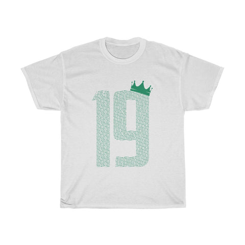 19 Crown - Champions 19/20 T-Shirt - Green Print
