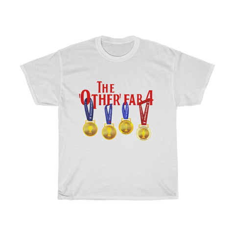 The Other FAB 4 - Red Font - Unisex T-Shirt