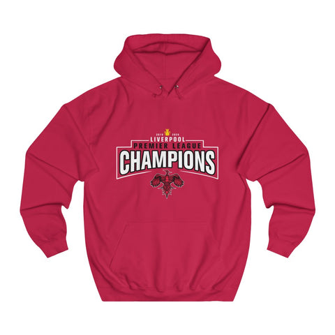 Champions 19/20 - Small Bird - Red - Unisex College Hoodie