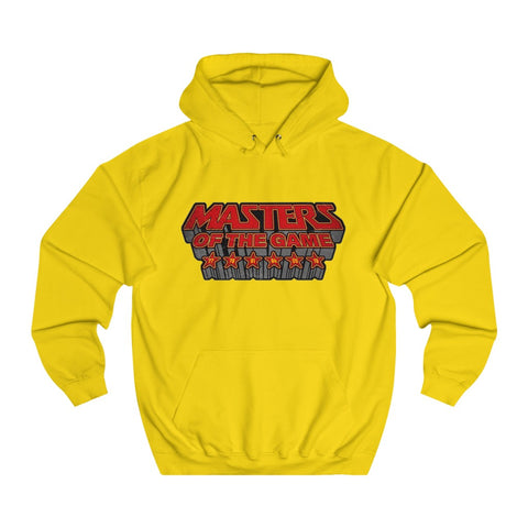 Masters of the Game - Unisex Hoodie - Red/Green Design