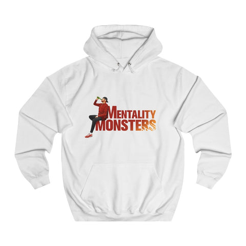 Mentality Monsters - Unisex Hoodie - Red/Yellow Design