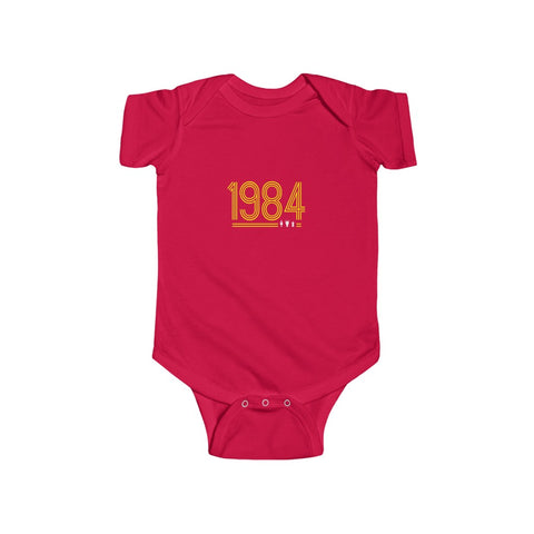 Retro 1984 - Yellow Text (Baby)