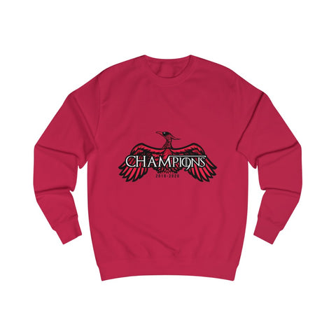 CHAMP19NS - GoT Style - Red/Black - Men's Sweatshirt