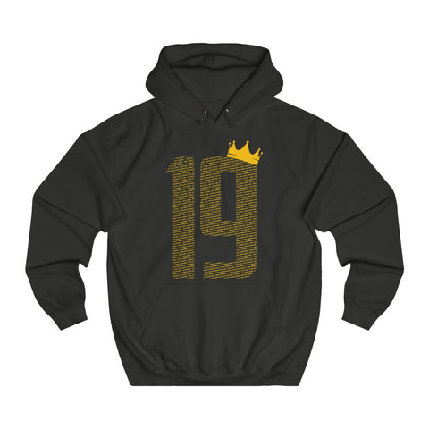19 Crown LFC Champions 19/20 Hoodie (Yellow Print)