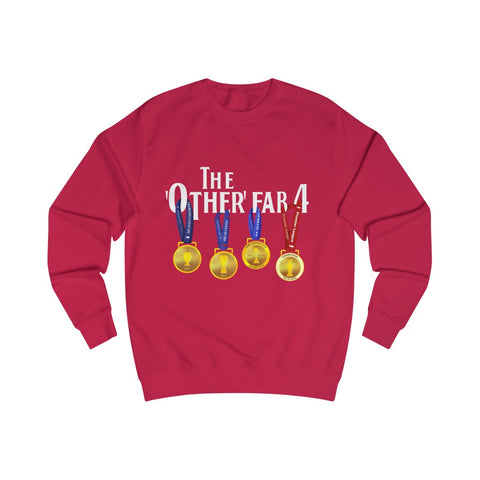 The Other Fab 4 -  White Font - Men's Sweatshirt