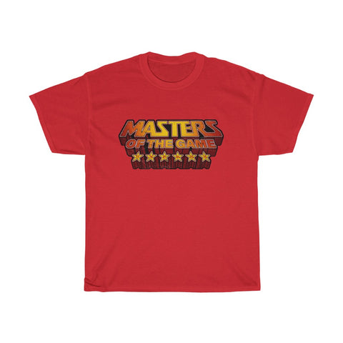 Masters of the Game LFC T-Shirt (Yellow & Red Print)