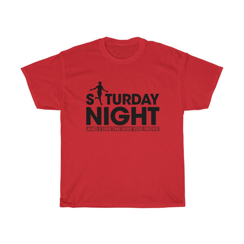 Saturday Night - Divock Origi Inspired T-Shirt - Black Print