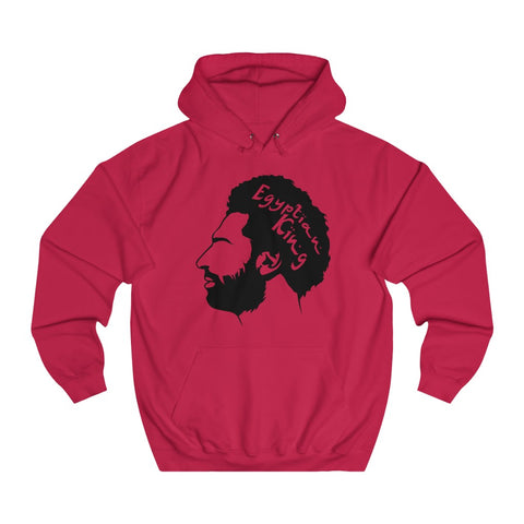 Egyptian King - Unisex Hoodie - Black/Transparent Design