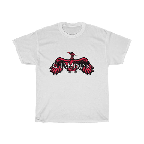 CHAMP19NS T-Shirt - GoT Style - Red & White Print