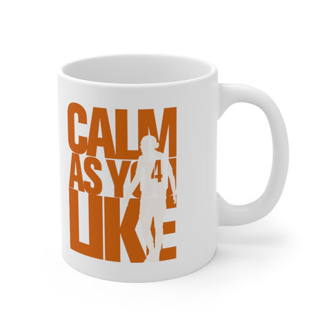 Calm As You Like VVD Mug (Orange Print)