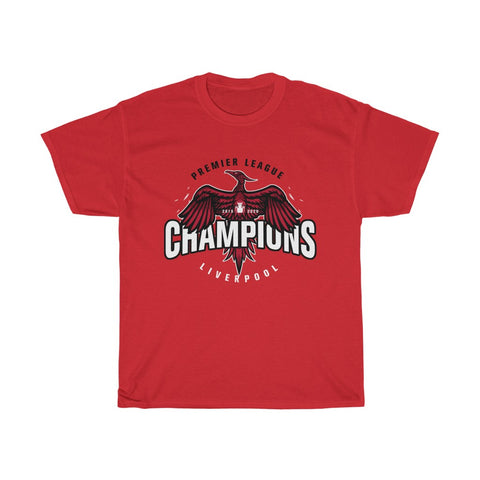 Big Bird - Champions 19/20 T-Shirt - White Print