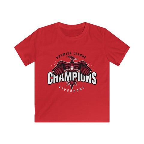 Champions 19/20 Bird - White Font Black Trim (Kids)