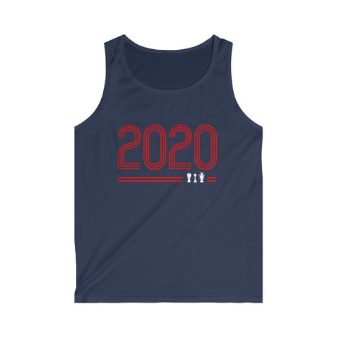 Retro 2020 - Unisex Tank Top (red design)