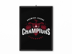 Champions 19/20 Bird Print Black - A3, A4 or A5