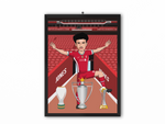 Curtis Jones - Liverpool 20/21 Caricature Illustration Print - A3, A4 or A5