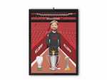 Jurgen Klopp - Liverpool 20/21 Caricature Illustration Print - A3, A4 or A5
