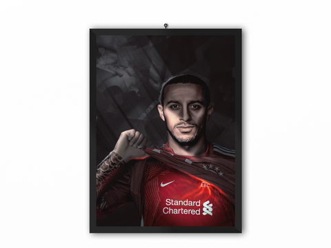 We've Been Expecting You - Thiago Alcantara Portrait - A3, A4 or A5