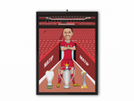 Joel Matip - Liverpool 20/21 Caricature Illustration Print - A3, A4 or A5