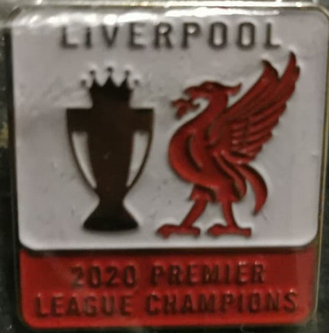 Liverpool LFC Premier League Winners Pin Badge