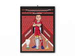 Xherdan Shaqiri - Liverpool 20/21 Caricature Illustration Print - A3, A4 or A5