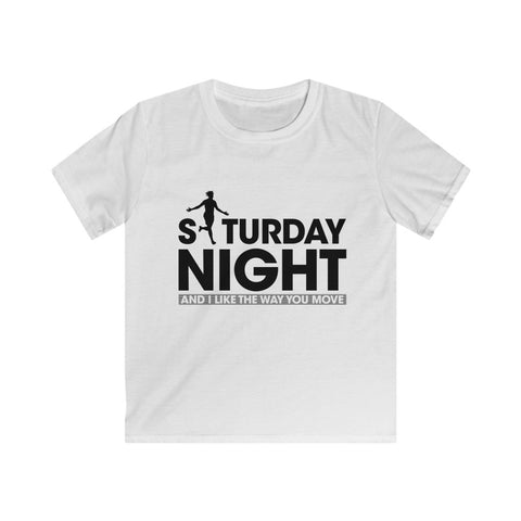 Saturday Night - Black Text (Kids)