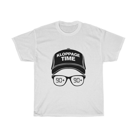 Kloppage Time - Jurgen Klopp Inspired T-Shirt - Black Print
