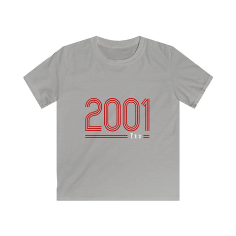 2001 Retro - Red Text (Kids)
