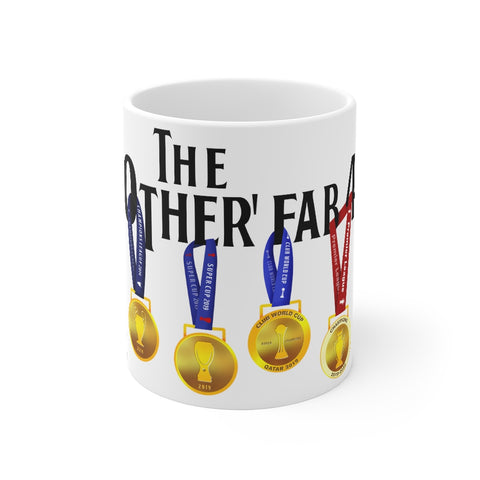 The Other Fab 4 - Champions 19/20 Mug (Black Text on White)