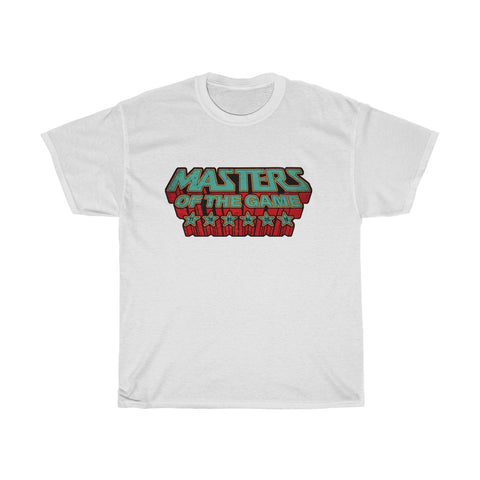 Masters of the Game LFC T-Shirt  (Green & Red Print)