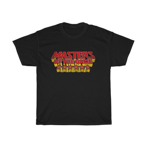 Masters of the Game LFC T-Shirt (Red & Yellow Print)