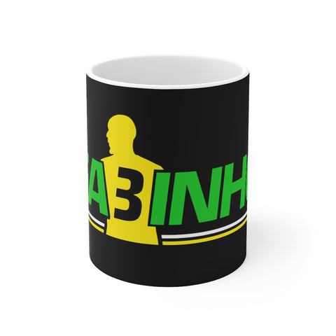 FA3INHO (Fabinho) Mug (Green/Yellow Print on Black)