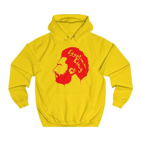 Egyptian King - Unisex Hoodie - Red/Transparent Design