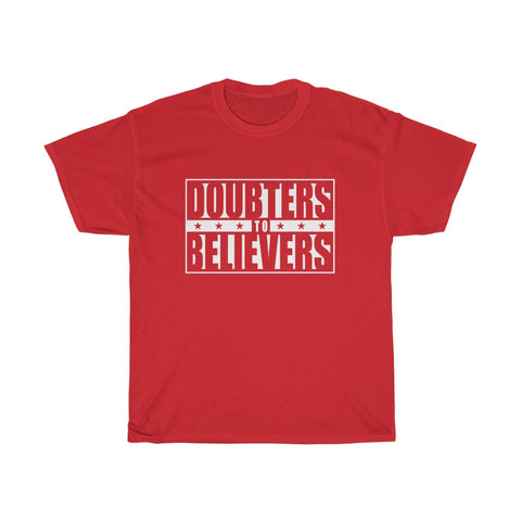 Doubters To Believers - White