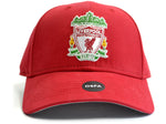 Liverpool Basic Crest Baseball Cap Red