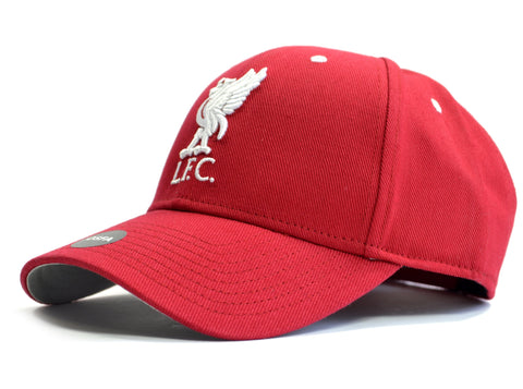 Liverpool Contrast Baseball Cap Liverbird Red